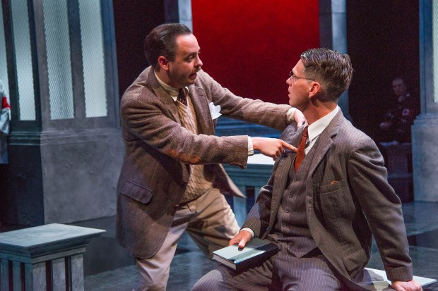 "Tim Spears and Michael Kaye in ""Good."" Photo: Andrew Brilliant/Brilliant Pictures"