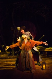 "Mark Kincaid and Rachel Napoleon in ""Abigail/1702."" Photo by Meaghan Moore"