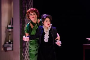 "Mary Callanan and Kathy St. George in ""Mame."" Nile Hawver/Nile Scott Shots"