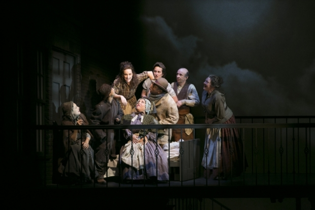 "Tracee Chimo and Company in ""Fingersmith."" Photo: Evgenia Eliseeva"