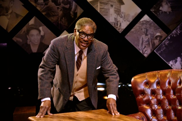 "Johnny Lee Davenport as Thurgood Marshall in ""Thurgood."" Photo: Andrew Brilliant/Brilliant Pictures"
