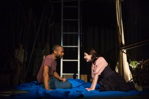 "Taavon Gamble and Sarah Elizabeth Pothier in ""Jonah and the Whale."" Photo: Maggie Hall"